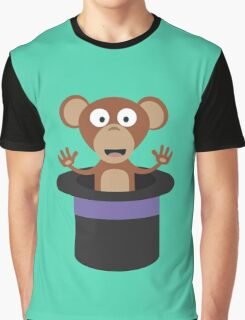 sweet monkey in hat  Graphic T-Shirt