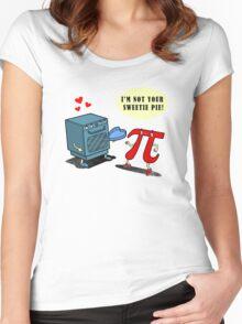 Mistaken PIEdentity Women's Fitted Scoop T-Shirt