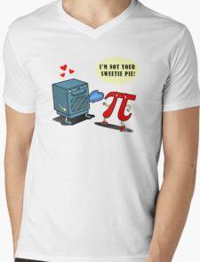 Mistaken PIEdentity Mens V-Neck T-Shirt