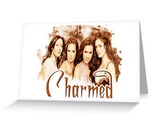 Charmed sister cast Greeting Card