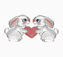 Cartoon rabbits / 3 / Love Kids Clothes