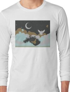 Pigeon in the Clouds 3 Long Sleeve T-Shirt