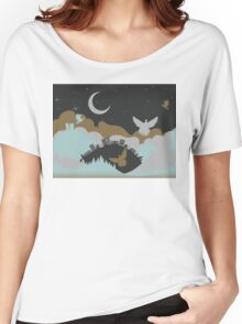 Pigeon in the Clouds 3 Women's Relaxed Fit T-Shirt