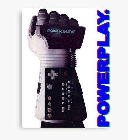 NES Power Glove - POWERPLAY Canvas Print
