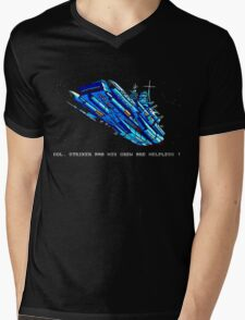 Turrican - Battle Cruiser Mens V-Neck T-Shirt
