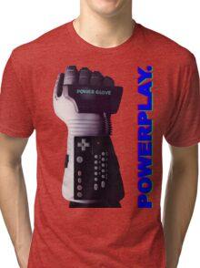 NES Power Glove - POWERPLAY Tri-blend T-Shirt