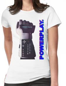 NES Power Glove - POWERPLAY Womens Fitted T-Shirt