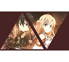 Sword Art Online: Kirito x Asuna Design Photographic Print