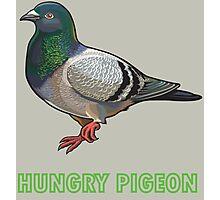 Hungry pigeon Photographic Print