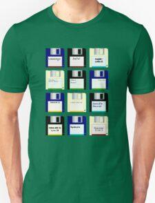 Amiga Disks Unisex T-Shirt