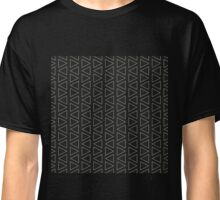 Pattern with triangles Classic T-Shirt
