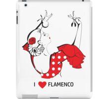 I love flamenco iPad Case/Skin