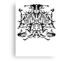 ink geometries Canvas Print