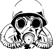 Vintage Gas Mask by intfactory