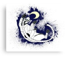 .:Catching the moon:. Canvas Print