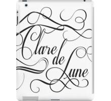 Clare de Lune iPad Case/Skin