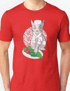 No-one but me makes the sushi (Japanese cat chef) T-Shirt