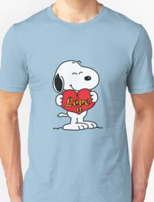 love you snoopy love T-Shirt
