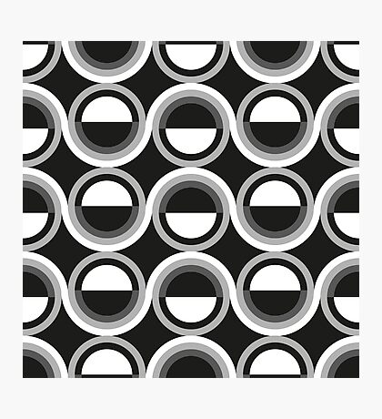 Abstract disco pattern Photographic Print