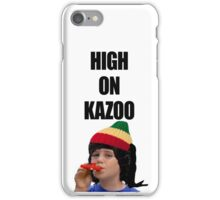 Kazoo kid. High on Kazoo iPhone Case/Skin