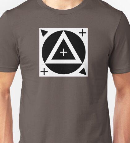 Motion Tracking Marker - White Background Unisex T-Shirt