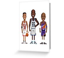 NBA FOREVER LEGEND 2 Greeting Card