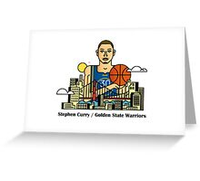 Stephen Curry x GSW Greeting Card