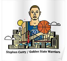 Stephen Curry x GSW Poster