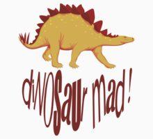dinosaur mad kids clothing design  Kids Tee