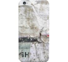 Abstract photograph of a white wall iPhone Case/Skin