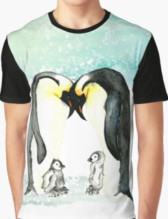 Emperor Penguins  Graphic T-Shirt