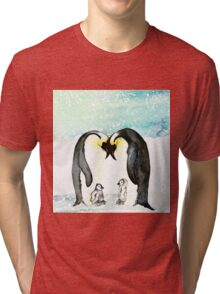 Emperor Penguins  Tri-blend T-Shirt