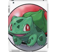 Bulbasaur pokeball - pokemon iPad Case/Skin