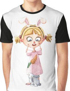 Bunnie girl Graphic T-Shirt