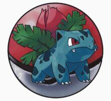 ivysaur pokeball - pokemon by pokofu13