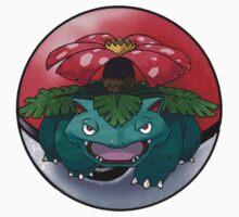 venusaur pokeball - pokemon Kids Clothes