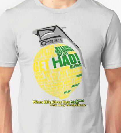 Combustible Melon (no outline) Unisex T-Shirt