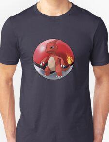 charmeleon pokeball - pokemon T-Shirt