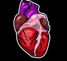 Tattoo Heart by SquareDog