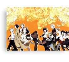 Bungou Stray Dogs Canvas Print