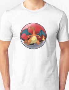 charizard pokeball - pokemon T-Shirt