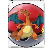 charizard pokeball - pokemon iPad Case/Skin