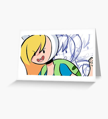 Fionna (Adventure Time) Greeting Card