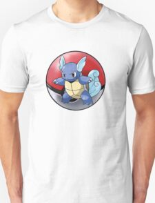 wartortle pokeball - pokemon T-Shirt