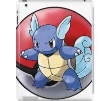 wartortle pokeball - pokemon iPad Case/Skin