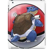 blastoise pokeball - pokemon iPad Case/Skin