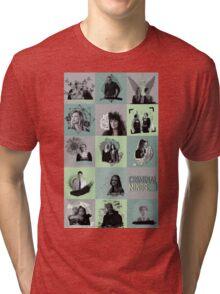 Criminal Minds collage Tri-blend T-Shirt