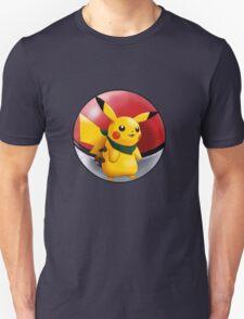 pikachu pokeball - pokemon T-Shirt