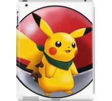 pikachu pokeball - pokemon iPad Case/Skin