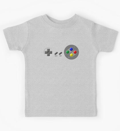 SNES Buttons Kids Tee
